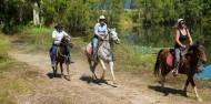 Horse Riding & Barron Rafting Combo image 3