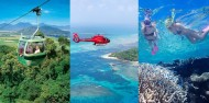 Cairns in a Day Combo - Rainforest Heli Reef image 1