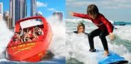 Jetboat Extreme & Surf Lesson Combo image 1