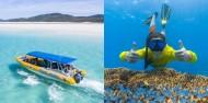 Cape Tribulation 2 Trips Deal - Ocean Safari & Ocean Rafting image 1