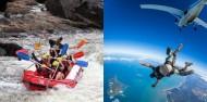 Thrills & Spills Combo - Skydive & Barron Raft image 1