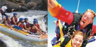 Super Thrills & Spills Combo - Skydive & Tully Raft image 1