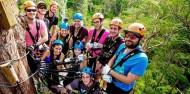 Ziplining - TreeTop Challenge Tamborine Mountain image 5