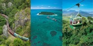 Green Island Combo - Reef Skyrail Kuranda Train image 1