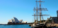 Sydney Harbour Tall Ship Lunch Cruise image 1