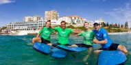 Surfing Bondi - Learn to Surf - Everything Australia