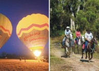 Ballooning & Horse Riding Combo