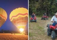 Ballooning & Quad Biking Combo