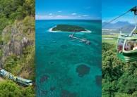 Green Island Combo - Reef Skyrail Kuranda Train