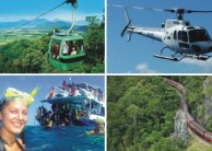 Cairns in a Day Combo - Kuranda Heli Reef