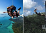 Skydive & Bungy Combo