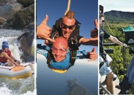 Super Triple Challenge Combo - Bungy Skydive & Tully Raft