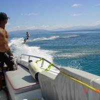 Wake Boarding on the Great Barrier Reef - Awesome Day