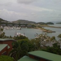 Views from our holiday rental in Hamilton Island in the Whitsundays, Queensland