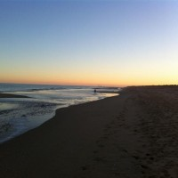 Sunset at Lakes Entrance, Victoria
