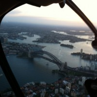 Views over Sydney harbour. Wow!!