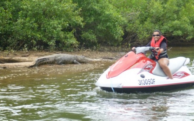 Jetski Crocodile Spotting Tour