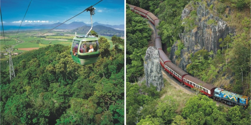 Skyrail and Kuranda Railway Combo