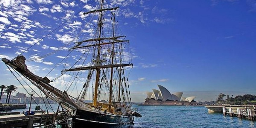 Sydney Harbour Tall Ship Lunch Cruise  Everything Australia