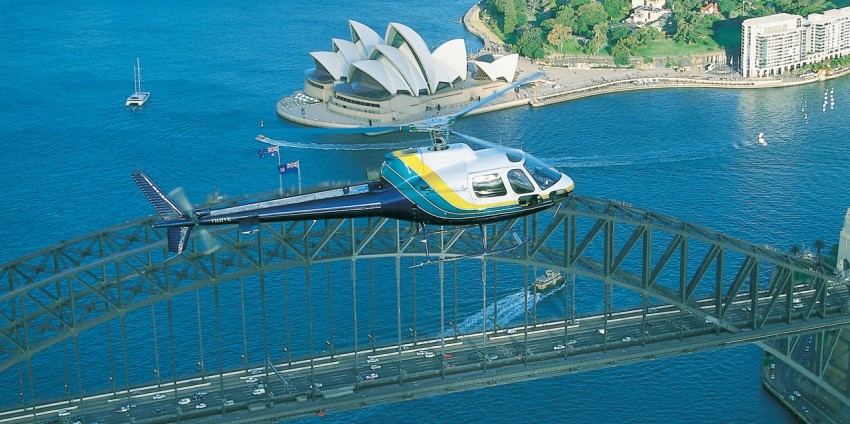 Helicopter Flight - Sydney Heli Grand Tour