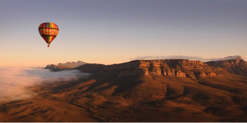 Alice Springs Hot Air Ballooning Everything Australia